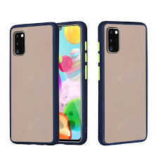 <b>Frosted Anti-Drop PC TPU</b> Hybrid Mobile Phone Case for Samsung ...