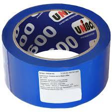 <b>Лента клейкая</b> упаковочная <b>Unibob</b> 48 мм x 66 м, цвет синий в ...