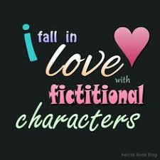 Image result for fall in love with fictional characters