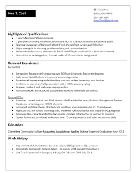 functional resume for students sample resume  functional