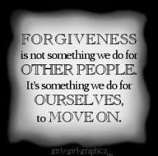 Forgiveness: Letting go of grudges and bitterness! via Relatably.com