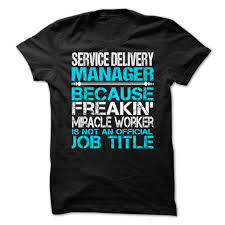delivery manager service delivery manager