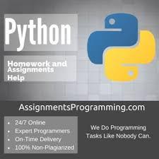 Python Assignment HelpPython Assignment Help