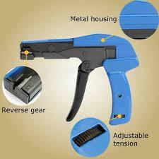 NYLON WRAP/CABLE <b>ZIP</b> Tie Strap Cutting Hand Tool Gun/Cutter ...