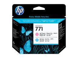 <b>HP</b> 771, <b>Печатающая головка</b> DesignJet, Светло-пурпурная ...