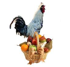 Rooster Chicken Kitchen Decor Rooster Fruit Bowls For A Country Kitchen Rural Ramblings