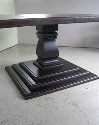 elegant square black mahogany dining table: custom square wood dining table by ecustomfinishes reclaimed wood furniture custommadecom