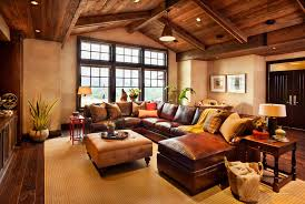 attic living room design youtube: amazing rustic western living room decor with wooden roof concept also rustic living room furniture