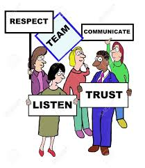 Image result for cartoon people showing respect
