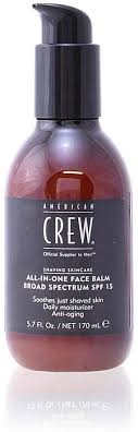 <b>AMERICAN CREW All</b>-In-One Face Balm SPF15 170 ml: Amazon.co ...