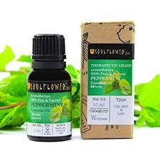Buy Soulflower <b>Essential Oil</b>, <b>Peppermint</b>, 15ml for Hair Growth ...