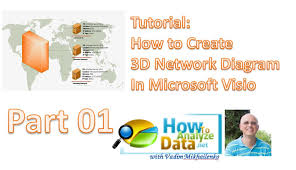 tutorial  create professionally looking d network diagram in    tutorial  create professionally looking d network diagram in microsoft visio  step by step