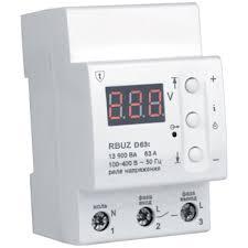 <b>Реле контроля напряжения</b> ZUBR (<b>RBUZ</b>) D63t, купить в ...