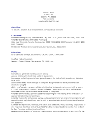 sample resume for a receptionist  sample receptionist resume    sample resume for a receptionist