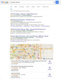 google discards right side desktop ads is the sky falling plumber denver new layout