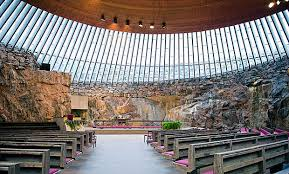 Resultado de imagen para iglesia de la roca en helsinki