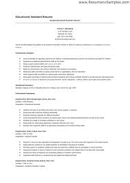 resume for teaching assistant resume template objectives for special education teacher sample resume