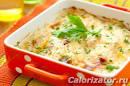 Цветная капуста с помидорами калорийность