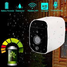 <b>DAYTECH</b> Battery Powered 1080P <b>Wireless IP</b> Camera <b>WiFi 2MP</b> ...
