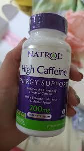 ON HAND Natrol <b>High Caffeine Extra Strength</b>, 200 mg 100 tablets ...