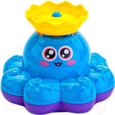 <b>Игрушка</b> для ванны <b>Bradex Фонтан</b>-<b>осьминожка</b> DE 0225 (голубой)