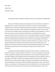 things fall apart post colonialism and globalization essay   yu   pages things fall apart essay
