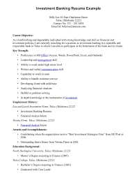 able investment banking resume example eager world annamua