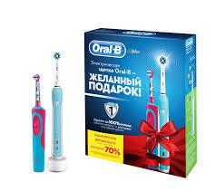 Купить <b>Набор электрических зубных щеток</b> ORAL-B Family PRO ...