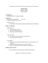 resume  resume objective high school student  moresume coschool students sample high resume the resume example no experience cc e f f resumes for high school students