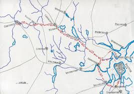 battle of lexington and concord map of the british route to concord battle of concord and lexington 19th 1775