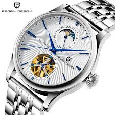 <b>PAGANI DESIGN</b> Brand 1656 Mens Watches Luxury Automatic ...