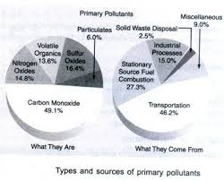 essay on air pollution sources causes effects and control types and sources of primary pollutants
