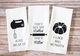 Flour Sack Towels - ORIGINAL! - Song Lyric Tea Towels - Just Beat ...