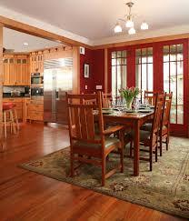 fascinating craftsman living room chairs furniture: craftsman kitchen and dining room christian gladu design