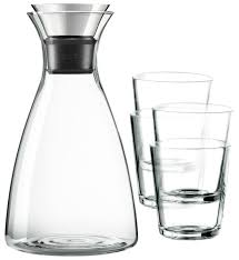 Набор Eva Solo <b>Drip</b>-<b>free</b> 567460 <b>Графин</b> и стаканы 5 предметов ...