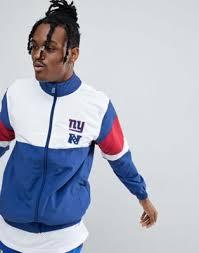Синяя спортивная <b>куртка</b> New Era NFL <b>New York</b> Giants | ASOS
