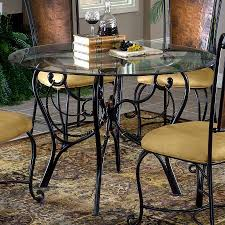 wonderful rod iron dining