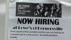 more than permanent seasonal jobs currently open in the hundreds of seasonal jobs open in the triad