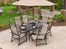 comfortable patio chairs aluminum chair: furniture design ideas weather resistant patio porti ibiza seven piece dinoval big umbrella comfortable six
