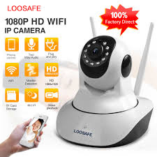 <b>LOOSAFE</b> Home Security IP Camera Automatic tracking PTZ Cloud ...