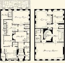 images about Townhouse Floor Plans on Pinterest   Townhouse    New York Townhouse Floor Plans   Avery Architectural Archives