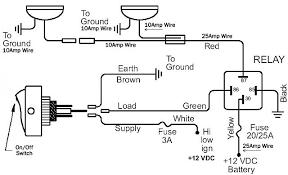 circuit diagram for spot lights defender circuit diagram for spot lights