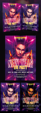 awesome psd flyer templates promote your new year eve party this psd template customize the text and change the colors in a easy way all elements are editable and layers