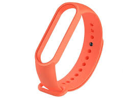 <b>Aксессуар Ремешок Activ для</b> Xiaomi Mi Band 5 Silicone Orange ...