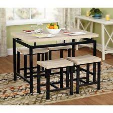 dining table set for 4 small kitchen bench chairs breakfast nook 5 pieces new breakfast furniture sets