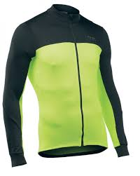 <b>NORTHWAVE</b> Man <b>cycling jersey</b> long sleeves full zip FORCE 2 ...