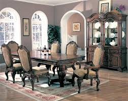 saint charles dining room set with double pedestal table buy dining furniture