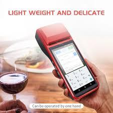 <b>Wifi</b> Version Smart Pos Machine <b>Portable Handheld</b> Pos Terminal ...