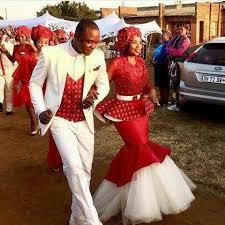 It's a wedding affair. <b>Beautiful Red</b>   <b>African</b> wedding dress, <b>African</b> ...