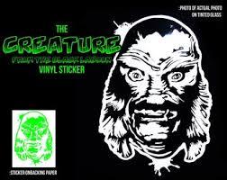 6 Inches Mars Attacks <b>Alien</b> Vinyl Sticker Premium vinyl ...